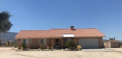 Single Family Home Sold: 11624 Desert View Road