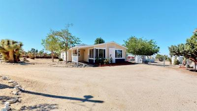Pinon Hills Single Family Home For Sale: 2174 Fremontia Road
