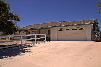 Pinon Hills Single Family Home For Sale: 9626 Minero Road