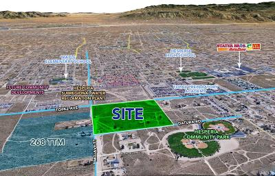 Hesperia Residential Lots & Land For Sale: Topaz Avenue