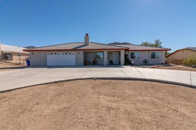 Apple Valley Single Family Home For Sale: 17475 Mesquite Road