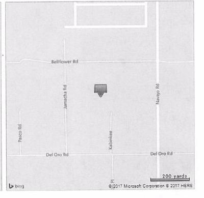Apple Valley Residential Lots & Land For Sale: Off-Navajo Road