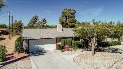 Apple Valley Single Family Home For Sale: 21050 Sandia Road