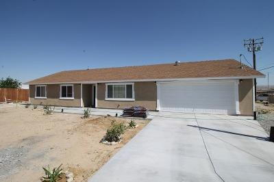 Barstow Single Family Home For Sale: 34760 Cedar Road #92311