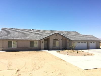 Apple Valley CA Single Family Home Sold: $380,000