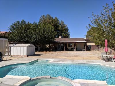 Helendale Single Family Home For Sale: 26621 Lakeview Drive