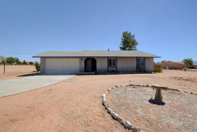 Apple Valley Single Family Home For Sale: 22837 El Centro Road