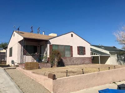 Barstow Single Family Home For Sale: 516 Mount Vernon Avenue