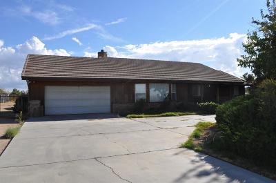 Hesperia Single Family Home For Sale: 15505 Eucalyptus Street