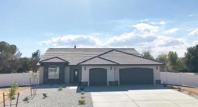 Hesperia Single Family Home For Sale: 18630 Plumas Street
