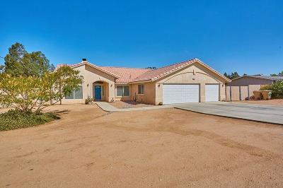 Hesperia Single Family Home For Sale: 15332 Hercules Street