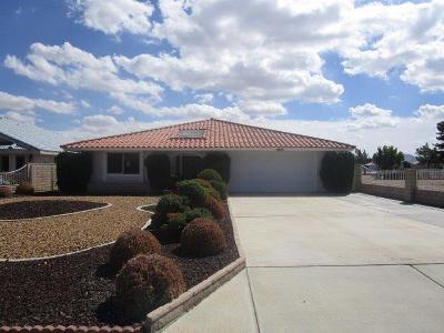 San Bernardino County Single Family Home For Sale: 26241 Fleet Lane