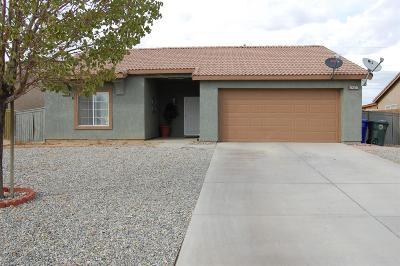 Adelanto Single Family Home For Sale: 11216 Rosedale Drive