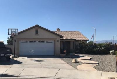 Adelanto Single Family Home For Sale: 15304 Ross Drive
