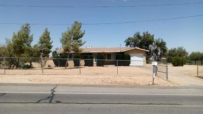 Hesperia Single Family Home For Sale: 18642 Lemon Street