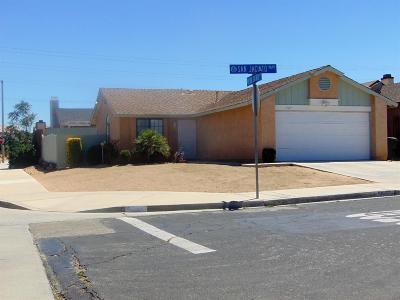 Victorville Single Family Home For Sale: 13697 San Jacinto Way