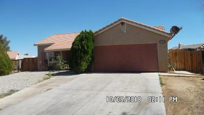 Adelanto Single Family Home For Sale: 14617 Alan Street