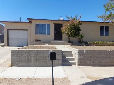 Barstow Single Family Home For Sale: 640 Kathleen Drive