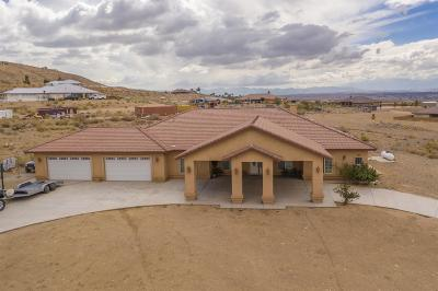 Apple Valley Single Family Home For Sale: 21245 Santa Rosa Road
