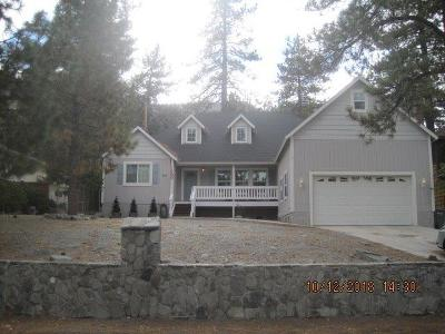 Wrightwood Single Family Home For Sale: 5354 Chaumont Drive