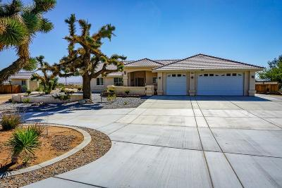 Apple Valley Single Family Home For Sale: 23355 Cuyama Road
