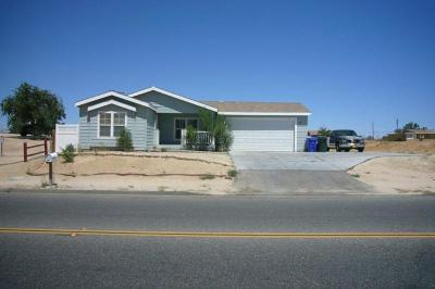 Victorville Single Family Home For Sale: 13873 Rodeo Drive