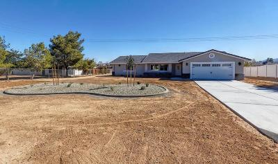 Apple Valley Single Family Home For Sale: 11885 Mohawk Road