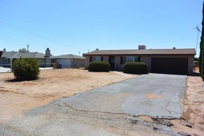 Victorville Single Family Home For Sale: 15655 Sitting Bull Street