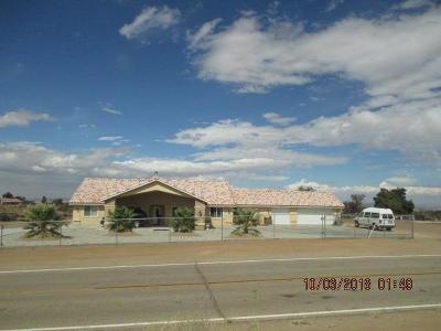Phelan Single Family Home For Sale: 9512 Mesquite Street