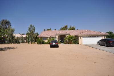 Hesperia Single Family Home For Sale: 9530 Carrissa Avenue