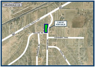 Helendale Residential Lots & Land For Sale: Frontier Road