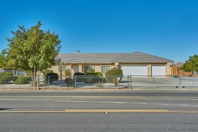 Apple Valley Single Family Home For Sale: 15230 Navajo Road