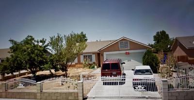 Adelanto Single Family Home For Sale: 17818 Stevens Street