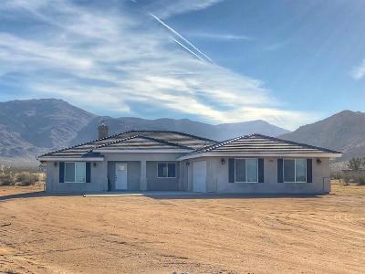 Apple Valley Single Family Home For Sale: 13845 Japatul Road