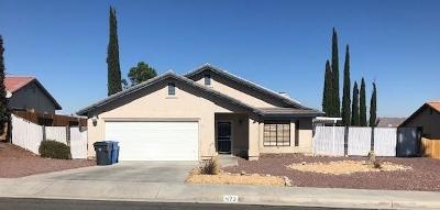 Barstow Single Family Home For Sale: 473 Berkeley Drive