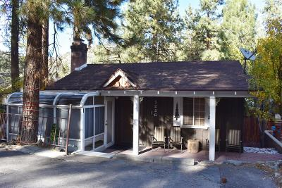 Wrightwood Single Family Home For Sale: 1226 Edna Street