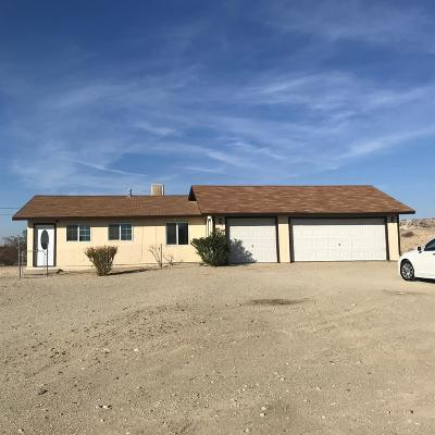 Barstow Single Family Home For Sale: 27538 Us Highway 58