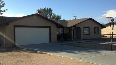 Apple Valley Single Family Home For Sale: 15362 Ute Road