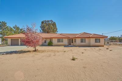 Hesperia Single Family Home For Sale: 8739 Hickory Avenue