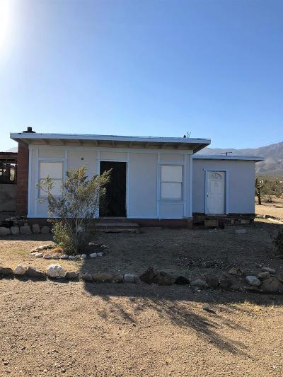 Lucerne Valley Single Family Home For Sale: 31101 Buenos Aires Road