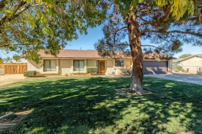 Apple Valley Single Family Home For Sale: 12762 Navajo Road