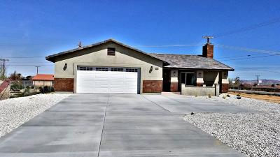 Apple Valley Single Family Home For Sale: 20866 Sitting Bull Road