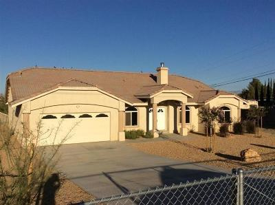 Victorville Single Family Home For Sale: 15741 N Culver Road