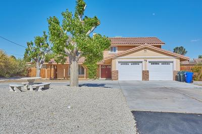 Apple Valley Single Family Home For Sale: 14011 Monte Verde Road
