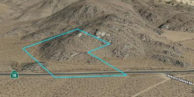 Apple Valley Residential Lots & Land For Sale: Highway 18 Highway