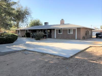 Apple Valley Single Family Home For Sale: 14192 Kiowa Road