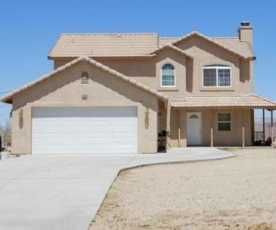 Barstow Single Family Home For Sale: 27944 Bonanza Road