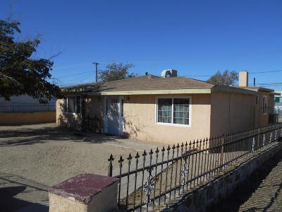 Barstow Single Family Home For Sale: 1551 Nancy Street