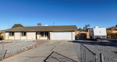 Apple Valley Single Family Home For Sale: 12787 Running Deer Road