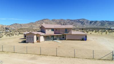 Apple Valley Single Family Home For Sale: 13975 Barker Road